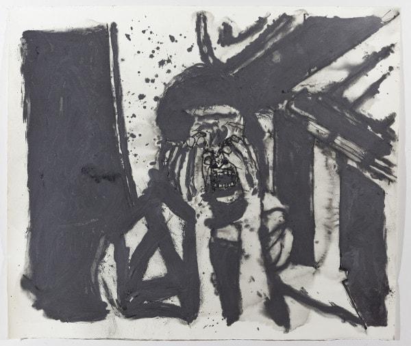 'U.T.', 2015, Graphite on paper, 136 x 156 cm, framed