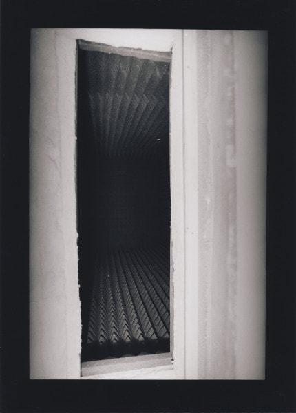 'u r 8, TOTAL ISOLIERTER TOTER RAUM (13), Giesenkirchen', 1989-91, 1/6, framed b/w hand proof print on Agfa paper, 42 x 52 cm