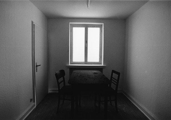 'u r 10-5, Haus u r, Rheydt', 1993, 3/6, framed b/w hand proof print on Agfa paper, 42 x 52 cm