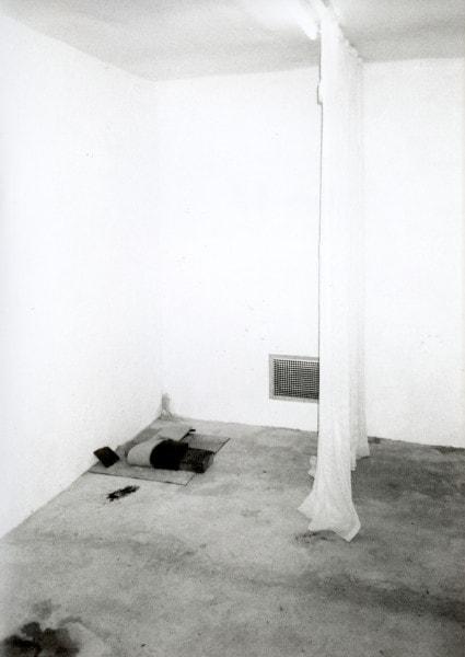 'u r 36, HARDCORE, Gartenlaube, Krefeld', 2000, 2/6, framed b/w hand proof print on Agfa paper, 42 x 52 cm