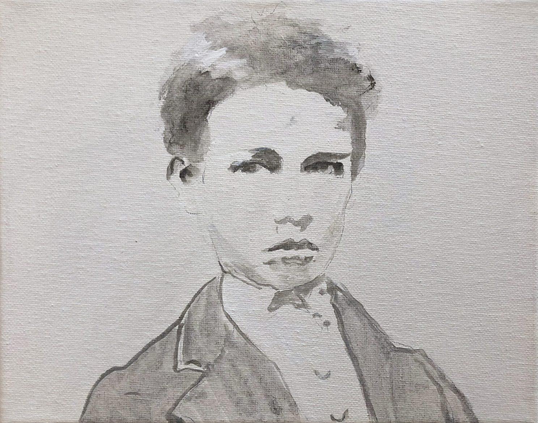 Tim Johnson, 'Arthur 1871 (1)', 2019, acrylic on canvas, 20 x 25 cm