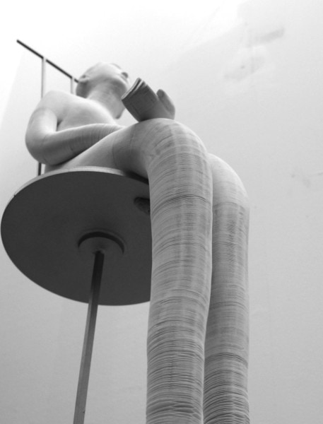 'Doll', 2012, Dimensions variable, paper and metal,