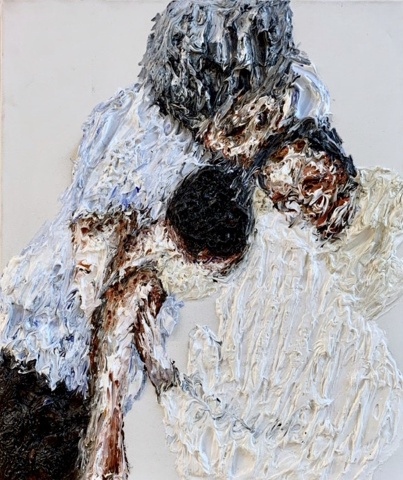 Clemens Krauss, 'Speechless Voice', 2014,oil on canvas, 59.5 x 50cm