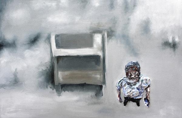 'Private Logic', 2015, oil on canvas, 60 cm x 91 cm