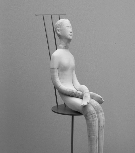 'Doll', 2012, Dimensions variable, paper and metal