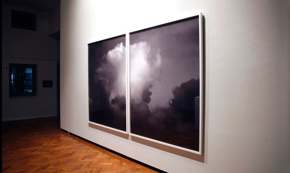 Plume Cumulus Disturbed by Electricity (diptych), 2012, Archival Pigment Prints, Edition of 5 + 2APs