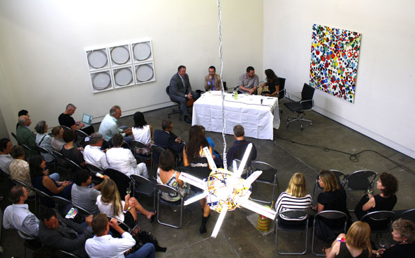 Panel discussion@ DOMINIK MERSCH GALLERY