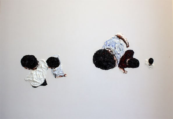'From the series CHROMOSOMES', 2009, 140 x 190 cm, oil on canvas