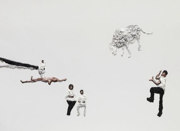 'Memory Agony', 2012, Oil on Canvas, 140 x 190 cm