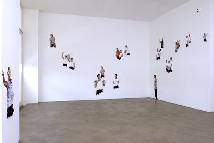 The Bodybody Problem, 2, 2006, Acryl on wall