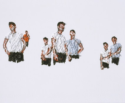 The Bodybody Problem, 2006, Acryl on canvas, 90 x 110 cm