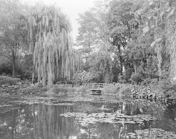 'Combray (Giverny III)', France (Haute-Normandie, 27 Eure), 2010, Heliogravure on hand made paper, 117 x 133 x 6 cm, edition of 12 + 3AP
