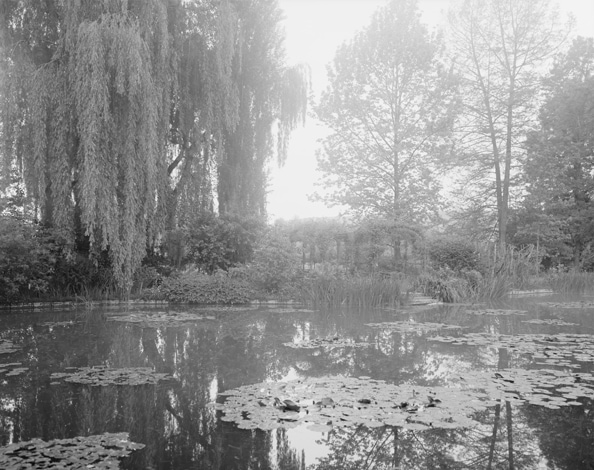 'Combray (Giverny IV)', France (Haute-Normandie, 27 Eure), 2010, Heliogravure on hand made paper, 117 x 133 x 6 cm, edition of 12 + 3AP