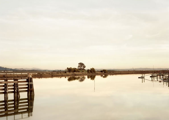 'Cutting Wharf II', USA, 2007, Epson UltraChrome K3 ink on Arches Infinity Smooth 355 gsm, Edition 5/10 + 3 AP, 110 x 144 cm