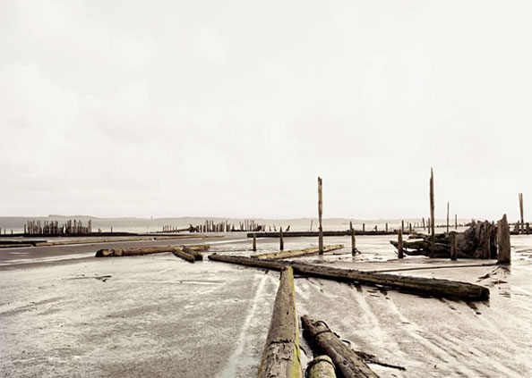 'Hoquiam I', USA, 2007, Epson UltraChrome K3 ink on Arches Infinity Smooth 355 gsm, Edition 5/10 + 3 AP, 110 x 144 cm