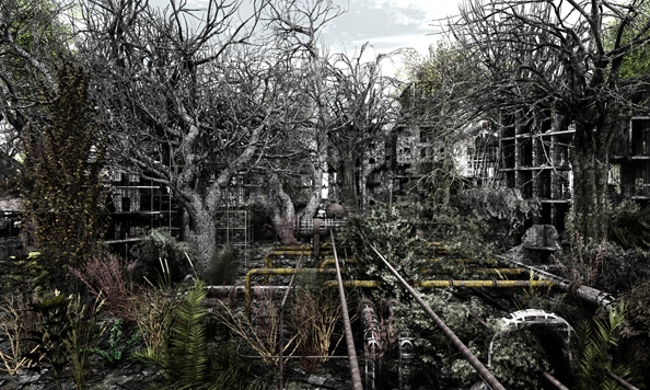 'Private Garden no. 1', 2010, 120 x 200 cm, C-Print, diasec on perspex, edition of 1