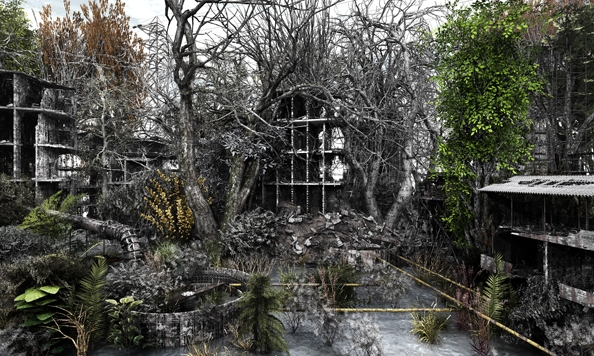 'Private Garden no. 2', 2010, 120 x 200 cm, C-Print, diasec on perspex, edition of 1
