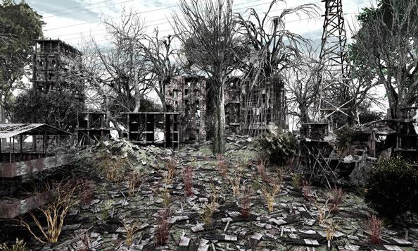 'Private Garden n.3', 2009, C-Print, diasec on Perspex