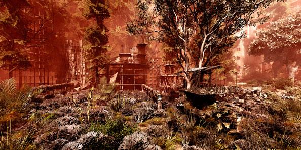 'Secret Garden n.1', 2008, C-Print, diasec on perspex