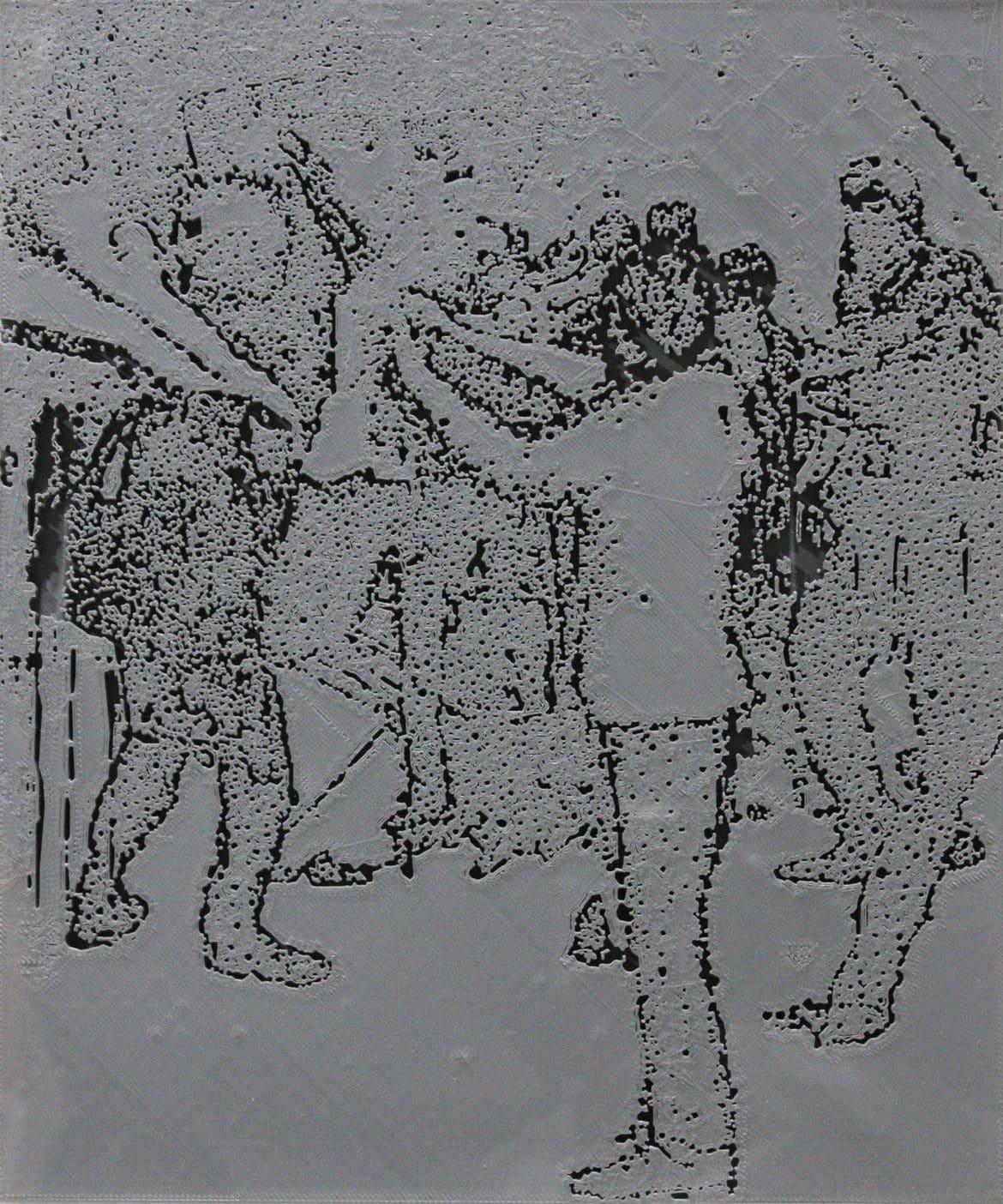 Jon Cattapan, 'Vapour Study I', 2019, 3D print, framed, 37 x 44 cm, edition of 5 + 1 A.P