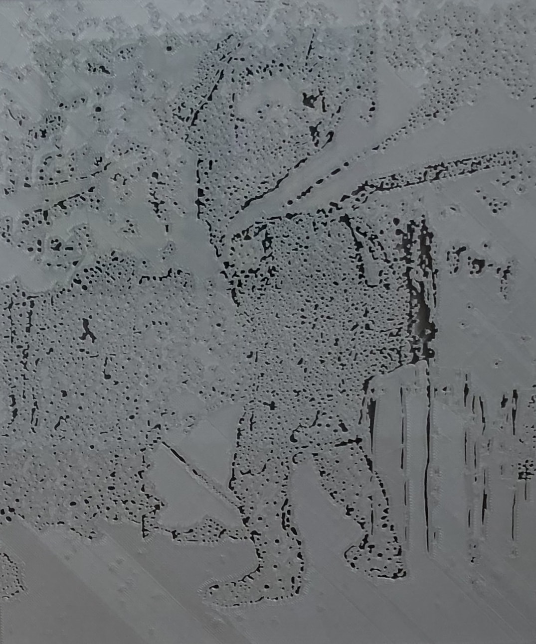 Jon Cattapan, 'Vapour Study IV', 2019, 3 D print, framed, 37 x 44cm, edition of 5 + 1 A.P