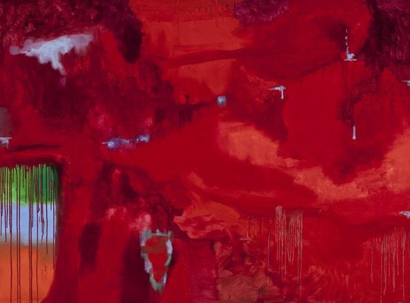 'Absence Field III', 2011, Oil on linen, 185 x 250cm