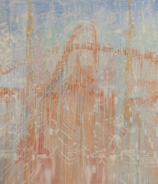 'Eternity No 2', 2014, Oil on linen, 198 x 168 cm