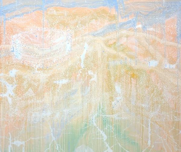 'Eternity No 5', 2014, Oil on linen, 168 x 198 cm