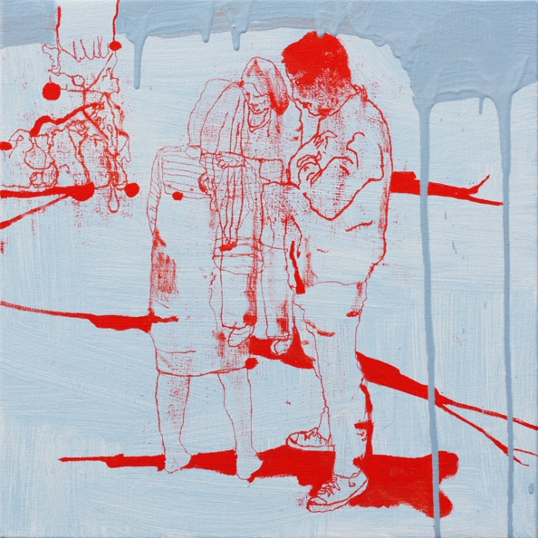 'Finder no. 2', 2011, oil on canvas, 50 x 50 cm