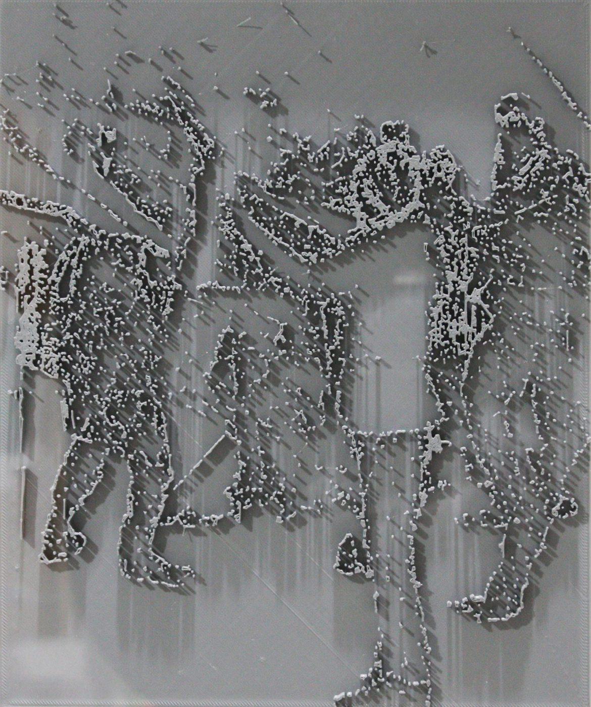 Jon Cattapan, 'Vapour Study II', 2019, 3D print, framed, 37 x 44 cm, edition of 5 + 1 A.P