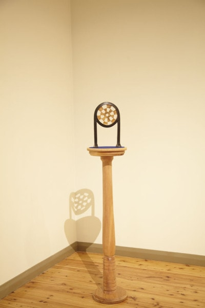 'Study in Bronze', 2010, Bronze, Turned wooden stand, 148 x 30 cm, edition of 1