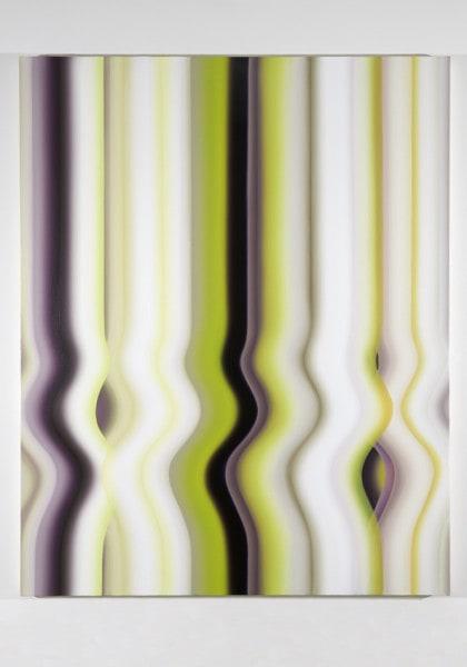 Persian Strobe: No. 12, 2013, oil on canvas, 200 x 160 cm