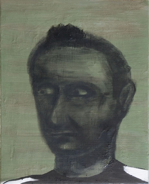 '11 Metres', 2010, oil on canvas, 50 x 40 cm