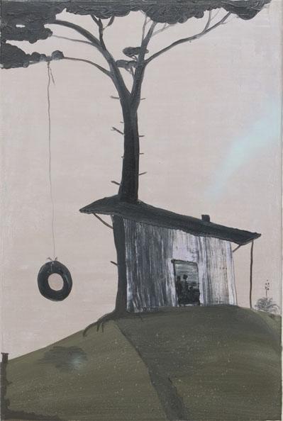 'Alte Heimat', 2010, oil on canvas, 90 x 60 cm