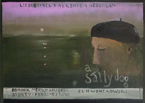 'Cover', 2010, oil on canvas, 51 x 70 cm<br /> =