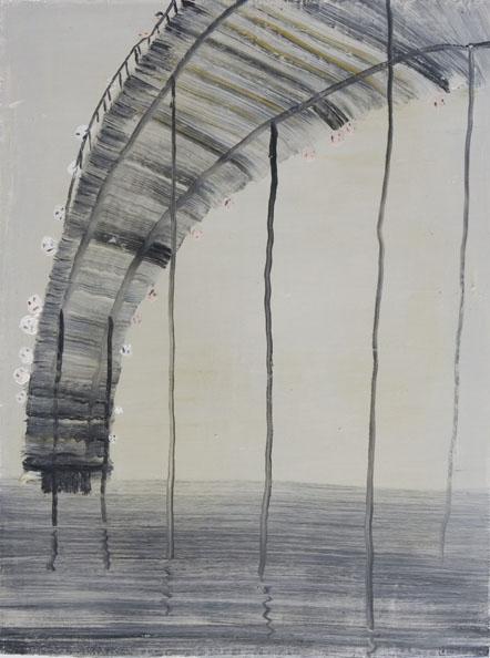 'Dawn Under', 2010, oil on canvas, 60 x 46 cm