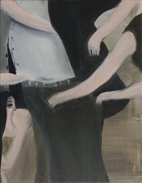 Farmer at the Bordello', 2010, oil on canvas, 40 x 50 cm