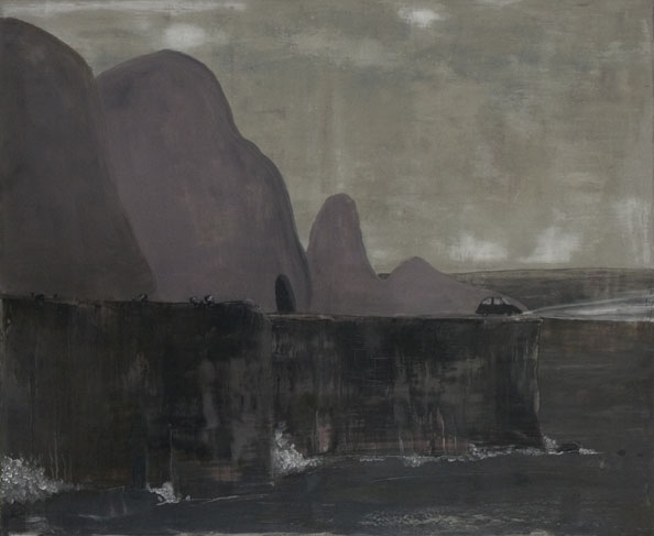 'Finis terrae', 2010, oil on canvas, 100 x 120 cm