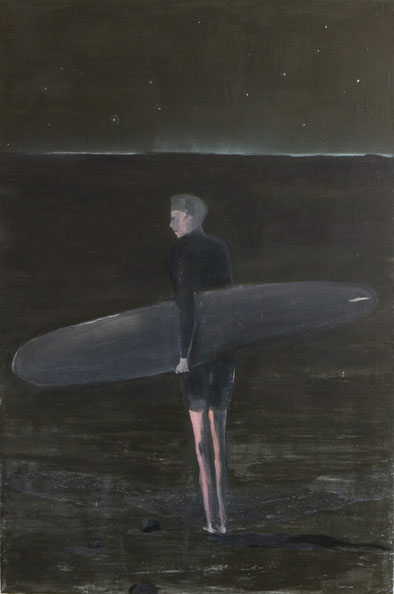 'Meeresleuchten', 2010, oil on canvas, 153 x 102 cm