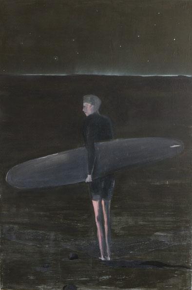 'Meeresleuchten', 2010, oil on canvas, 153 x 102 cm