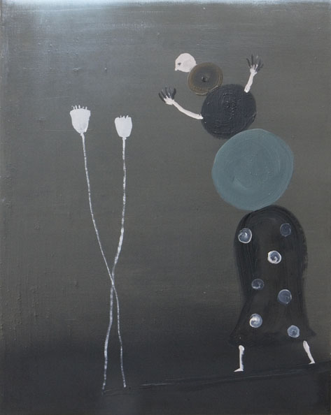 'O wie opium', 2010, oil on canvas, 50 x 40 cm