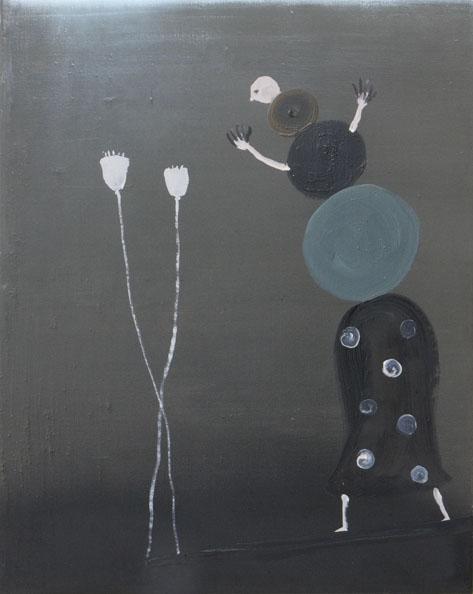 'O wie opium', 2010, oil on canvas, 50 x 40 cm