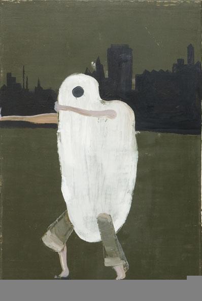 'The Artist as a young man', 2010, oilon canvas, 90 x 60 cm