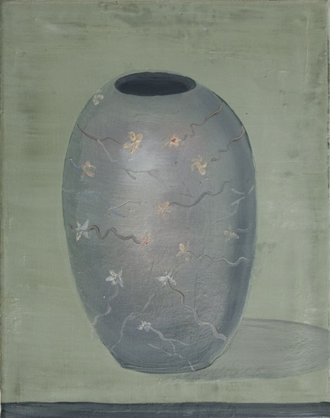 'Vas Spirituale ', 2010, oil on canvas, 40 x 50 cm