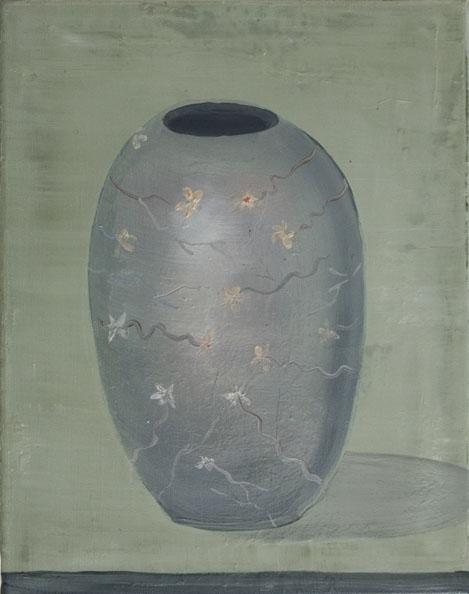 'Vas Spirituale ', 2010, oil on canvas, 40 x 50 cm