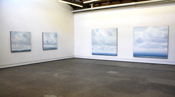 Exhibition Shot 4, Philip Wolfhagen 'Four Exaltations' exhibition, October 2011