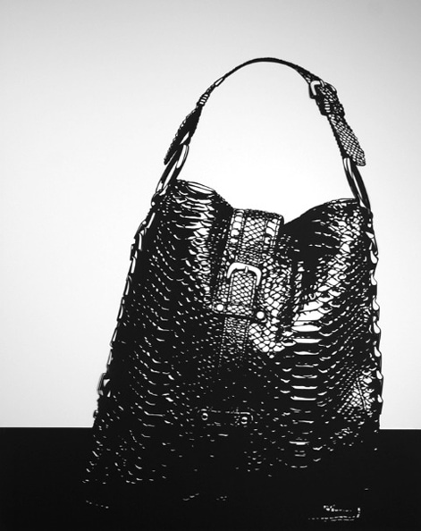 'Jiki Handbag', 2012, 101.7 x 81.5 cm, cut-out