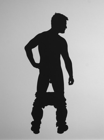'Mario', 2012, 40 x 30 cm, Paper cut-out, Edition 10+1