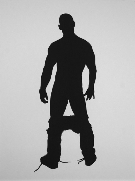 'Oliver', 2012, 40 x 30 cm, Paper cut-out, Edition 10+1