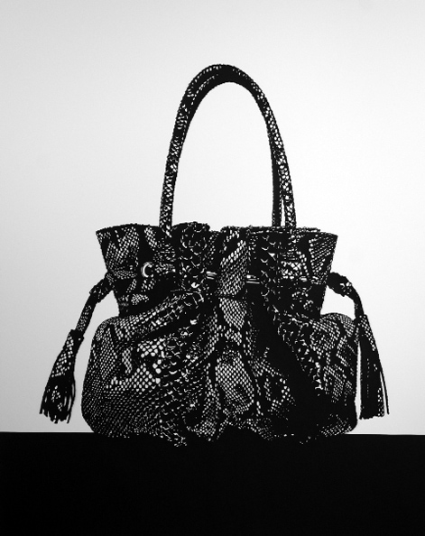 'Prada Handbag', 2012, 101.7 cm x 81.5 cm, Paper cut-out